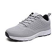 baratos Sapatos Masculinos-Homens Sapatos Confortáveis Com Transparência Primavera Tênis Caminhada Preto / Cinzento