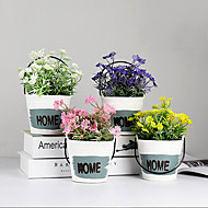 billige Kunstige blomster-Kunstige blomster 1 Gren Klassisk / Singel Stilfull Kystantemum Bordblomst