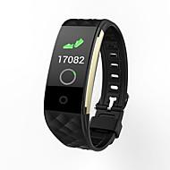 tanie Inteligentne zegarki-Inteligentne Bransoletka S2 plus na Android 4.4 i iOS 8.0 lub nowszy Pulsometr / Wodoodporne / Spalone kalorie / Rejestr ćwiczeń / Informacje Stoper / Krokomierz / Powiadamianie o połączeniu / Budzik