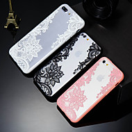 billiga Mobil cases & Skärmskydd-fodral Till Apple iPhone X / iPhone 8 Plus Mönster Skal spetsar Utskrift Hårt PC för iPhone X / iPhone 8 Plus / iPhone 8