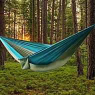 AOTU Rede de Acampamento Ao ar livre Portátil, Leve Náilon para Campismo / Exterior / Interior - 2 Pessoas Amarelo / cinza / Azul + Cinza / Azul Royal / Azul Claro