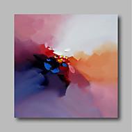 billige Nyheter-Hang malte oljemaleri Håndmalte - Abstrakt Moderne Lerret