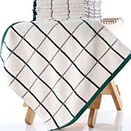 billige -Overlegen kvalitet Badehåndkle, Geometrisk Polyester / Bomull Baderom 2 pcs