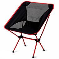 chaise de camping Extérieur Portable Ultra léger (UL) Alliage d'aluminium 7005 Tissu Oxford Oxford pour 1 personne Pêche Plage Camping Bleu de minuit Marine Fuchsia