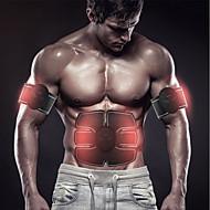 Stymulator mięśni brzucha Pas modelujący brzuch Trener Abs EMS Krzem Elektroniczny Toner mięśni Bezprzewodowy Utrata wagi Doskonałe szkolenie Budowa mięśni Męskie Damskie Fitness Trening w siłowni