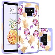 billiga Mobil cases & Skärmskydd-BENTOBEN fodral Till Samsung Galaxy Note 9 Stötsäker / Mönster Skal Frukt Hårt PC för Note 9