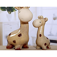 cheap Dress Up & Pretend Play-Toy Tool Horse Sheep Deer Lovely Exquisite Parent-Child Interaction Ceramic Teenager Adults' All Boys' Girls' Toy Gift 2 pcs