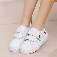 baratos Sapatos de Menino-Para Meninos / Para Meninas Sapatos Couro Ecológico Primavera Verão Conforto Tênis Caminhada Combinação / Velcro para Infantil Preto / Verde