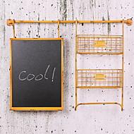 billige Veggdekor-Stilleben Veggdekor Metall Parfymert Veggkunst, Veggkunst i metall Dekorasjon