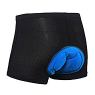WOLFBIKE Unisex Cycling Under Shorts Bike Shorts Underwear Shorts Padded Shorts / Chamois 3D Pad Quick Dry Sports Polyester Spandex Silicon Black Mountain Bike MTB Road Bike Cycling Clothing Apparel