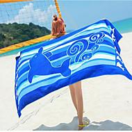billiga Handdukar och badrockar-Överlägsen kvalitet Strand handduk, Djur 100% Polyester Badrum 1 pcs
