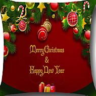 billige Putevar-Putevar Jul / Ferie Uvevet Rektangulær Originale julen Dekor