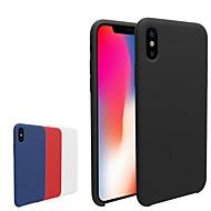 Etui Käyttötarkoitus Apple iPhone X / iPhone 8 Himmeä Takakuori Yhtenäinen Pehmeä TPU varten iPhone X / iPhone 8 Plus / iPhone 8