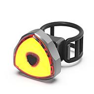 preiswerte -Waterproof / Fahrradrücklicht / Rückleuchten LED Radlichter LED Radsport Wasserfest, Tragbar, Professionell Li-Polymer 50 lm Wiederaufladbarer Strom Rot Camping / Wandern / Erkundungen / Radsport