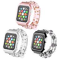billiga Smart klocka Tillbehör-Klockarmband för Apple Watch Series 4/3/2/1 Apple Smyckesdesign Keramisk Handledsrem