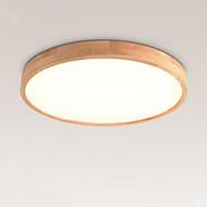 billige Taklamper-Sirkelformet Takplafond Omgivelseslys Tre Tre / Bambus Tre / Bambus Nytt Design 220-240V Varm hvit + hvit LED lyskilde inkludert / Integrert LED