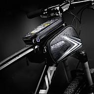 Taske til cykelstyret Touch Screen, Cykling, Vandtæt Lynlås Cykeltaske PU Læder / TPU Cykeltaske Cykeltaske Cykling Cykel