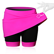 cheap -SPAKCT Women's Cycling Skirt Bike Shorts / Skirt / Padded Shorts / Chamois Breathable, 3D Pad Solid Colored, Patchwork, Classic Spandex Black / Blue / Pink Advanced Mountain Cycling Semi-Form Fit