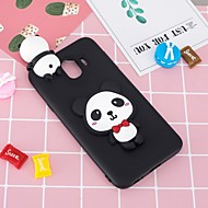 Case For Samsung Galaxy J6 / J4 Pattern / DIY Back Cover Panda Soft TPU for J7 (2017) / J7 (2016) / J6