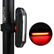 billige Sykkellykter og reflekser-Baklys LED Sykkellykter Sykling Vanntett, Justerbar, Anti-Sjokk Lithium-batteri 10 lm Rød mi.xim