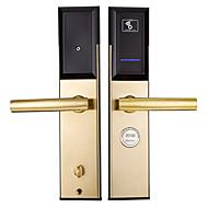 billige Intelligente låser-Factory OEM Rustfritt Stål Intelligent Lås Smart hjemme sikkerhet System RFID Leilighet / Hotell (Lås opp modus Mekanisk nøkkel / Kort)