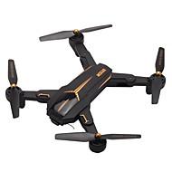 RC Drone VISUO XS812 RTF 4 Kanaler 6 Akse 2.4G Med HD-kamera 5.0MP 1080P Fjernstyret quadcopter En Knap Til Returflyvning / Hovedløs Modus / Adgang Til Real-Tid Optagelser Fjernstyret Quadcopter