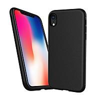 billiga Mobil cases & Skärmskydd-fodral Till Apple iPhone XR / iPhone XS Max Stötsäker / Läderplastik Skal Linjer / vågor Mjukt TPU för iPhone XR / iPhone XS Max