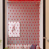 billige Gardiner ogdraperinger-Dørpanelet Gardiner Gardiner Entry & Mudroom Geometrisk Polyester Reaktivt Trykk