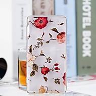 billiga Mobil cases & Skärmskydd-fodral Till Sony Xperia XZ2 Compact / Xperia XZ2 Genomskinlig / Mönster Skal Blomma Mjukt TPU för Huawei P20 / Huawei P20 Pro / Huawei P20 lite