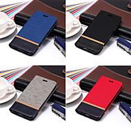 billiga Mobil cases & Skärmskydd-fodral Till Apple iPhone X / iPhone 8 Plånbok / Korthållare / med stativ Fodral Enfärgad Hårt PU läder för iPhone X / iPhone 8 Plus / iPhone 8
