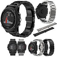 billiga Smart klocka Tillbehör-Klockarmband för Fenix 3 Garmin Klassiskt spänne Stål / Metall Handledsrem