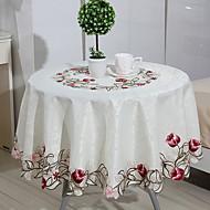 billige Duker-Moderne 100g / m2 Polyester Strik Stretch Rund Duge Geometrisk Borddekorasjoner 1 pcs