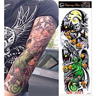 3 pcs ideiglenes tetoválás Totem sorozat / Virág sorozat Sima matrica / Környezetbarát / Egyszer használatos Body Arts Karosszéria / kar / Láb / Dísz-stílusú ideiglenes tetoválás
