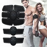 Stymulator mięśni brzucha Pas modelujący brzuch Trener Abs EMS Krzem Elektroniczny Toner mięśni Bezprzewodowy Utrata wagi Doskonałe szkolenie Budowa mięśni Fitness Trening w siłowni Dla Męskie Damskie