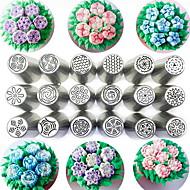 billige Bakeredskap-Bakeware verktøy Rustfritt stål Søtt Kake Rund Cake Moulds / Rullepinne 1pc