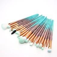 20pcs Makeup Brushes Professional Blush Brush / Eyeshadow Brush / Lip Brush Nylon fiber Full Coverage