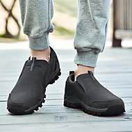 baratos Sapatos Masculinos-Homens Sapatos Confortáveis Camurça Primavera & Outono Casual Mocassins e Slip-Ons Preto / Azul Escuro / Cinzento Escuro