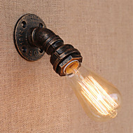 baratos Arandelas de Parede-Estilo Mini Clássica / Vintage Luminárias de parede Sala de Estar / Entrada Metal Luz de parede 110-120V / 220-240V 60 W