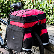 Χαμηλού Κόστους Διπλές τσάντες σέλας ποδηλάτου-ROSWHEEL 60 L Τσάντα αποσκευών για ποδήλατο / Διπλή τσάντα σέλας ποδηλάτου Αδιάβροχη, Αδιάβροχο, Φοριέται Τσάντα ποδηλάτου 600D Ripstop Τσάντα ποδηλάτου Τσάντα ποδηλασίας Ποδηλασία Υπαίθρια Άσκηση