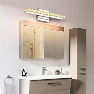 tanie Oświetlenie lustra-Kryształ / Styl MIni LED / Nowoczesny Oświetlenie łazienkowe Sypialnia / Łazienka Metal Światło ścienne IP20 85-265V 16 W