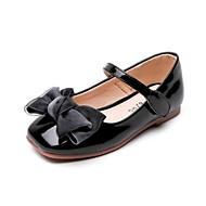 abordables Chaussures pour Fille-Fille Chaussures Polyuréthane Printemps & Automne Chaussures de Demoiselle d'Honneur Fille Ballerines Noeud / Scotch Magique pour Enfants / Adolescent Gris / Rose / Bourgogne