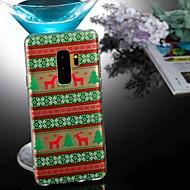 billiga Mobil cases & Skärmskydd-fodral Till Samsung Galaxy S9 Plus / S8 Genomskinlig / Mönster Skal Djur / Jul Mjukt TPU för S9 / S9 Plus / S8 Plus
