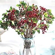 billige Kunstige blomster-Kunstige blomster 1 Gren Klassisk Pastorale Stilen Planter Bordblomst