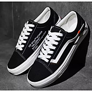 cheap Men's Sneakers-Men's Comfort Shoes Suede Spring &  Fall Sneakers Black / Red / Black / White