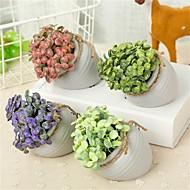 billige Kunstige blomster-Kunstige blomster 1 Gren Klassisk / Singel Enkel Stil / Moderne Planter / Vase Bordblomst