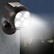 baratos Focos-BRELONG® 1pç 6 W Focos de LED Impermeável / Controle de luz / Monitor de Detecção de Movimento Branco 3.7 V Iluminação Externa / Piscina / Pátio 4 Contas LED