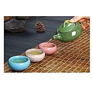billiga Dricksglas-kung fu te uppsättning keramiska te uppsättningar teacup chinesetravel te uppsättning drinkware kaffe&te uppsättningar