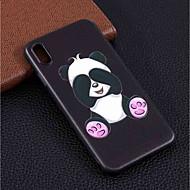 billiga Mobil cases & Skärmskydd-fodral Till Apple iPhone XR / iPhone XS Max Mönster Skal Panda Mjukt TPU för iPhone XS / iPhone XR / iPhone XS Max