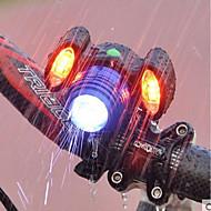 preiswerte -Fahrradlicht Radlichter Radsport Wasserfest, Tragbar, Verstellbar Wiederaufladbarer Akku 500 lm USB-Anschluss Camping / Wandern / Erkundungen / Radsport