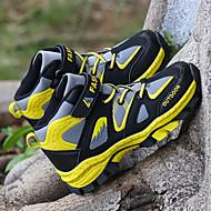 baratos Sapatos de Menino-Para Meninos Sapatos Couro Ecológico Primavera & Outono / Primavera Conforto Tênis Caminhada Cadarço / Combinação para Adolescente Amarelo / Azul / Estampa Colorida